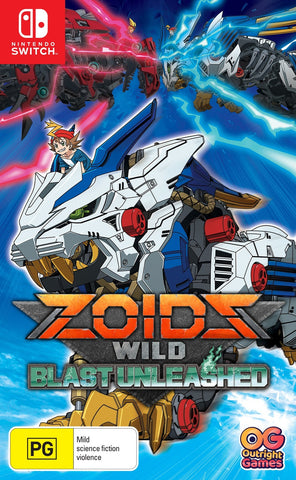 Zoids Wild: Blast Unleashed - Nintendo Switch