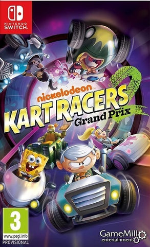 Nickelodeon Kart Racers 2: Grand Prix - Nintendo Switch