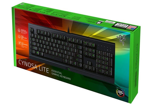 Razer Cynosa Lite Essential Gaming Keyboard - PC Games