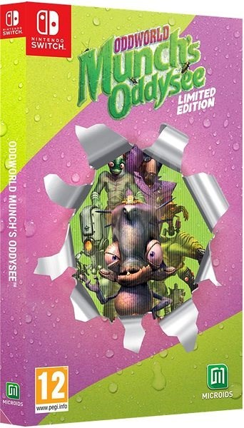 Oddworld Munch's Oddysee Limited Edition - Nintendo Switch