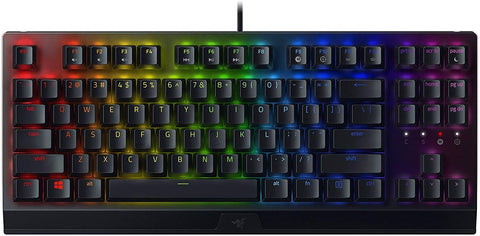 Razer BlackWidow V3 Tenkeyless Mechanical Gaming (Green switch) - PC Games