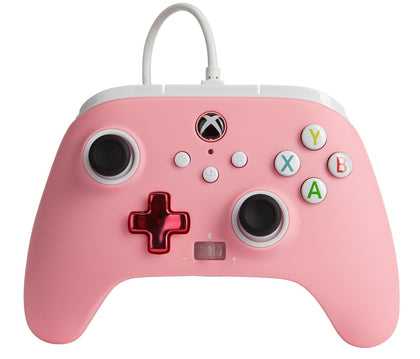 PowerA Xbox Enhanced Wired Controller (Bold Pink) - Xbox Series X