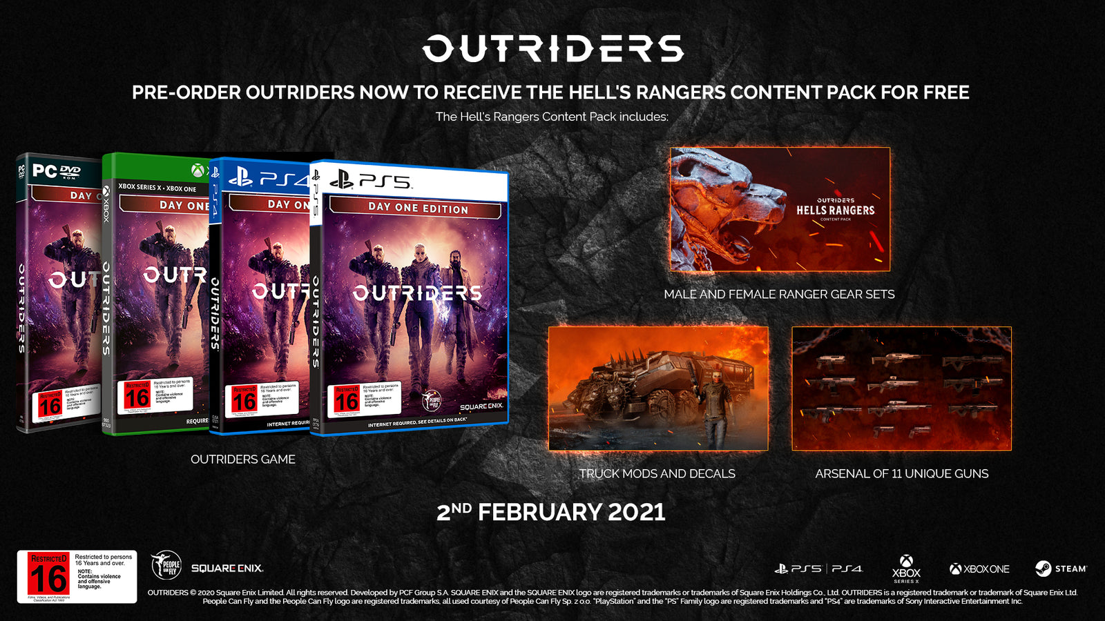 Outriders Day One Edition - Xbox One