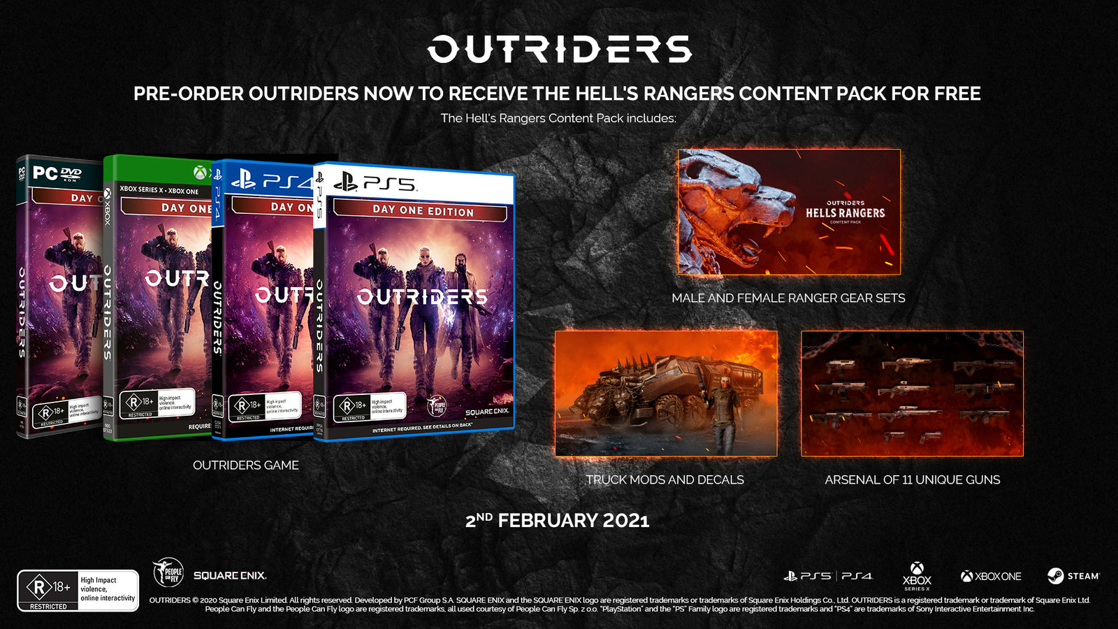 Outriders Day One Edition - PC Games