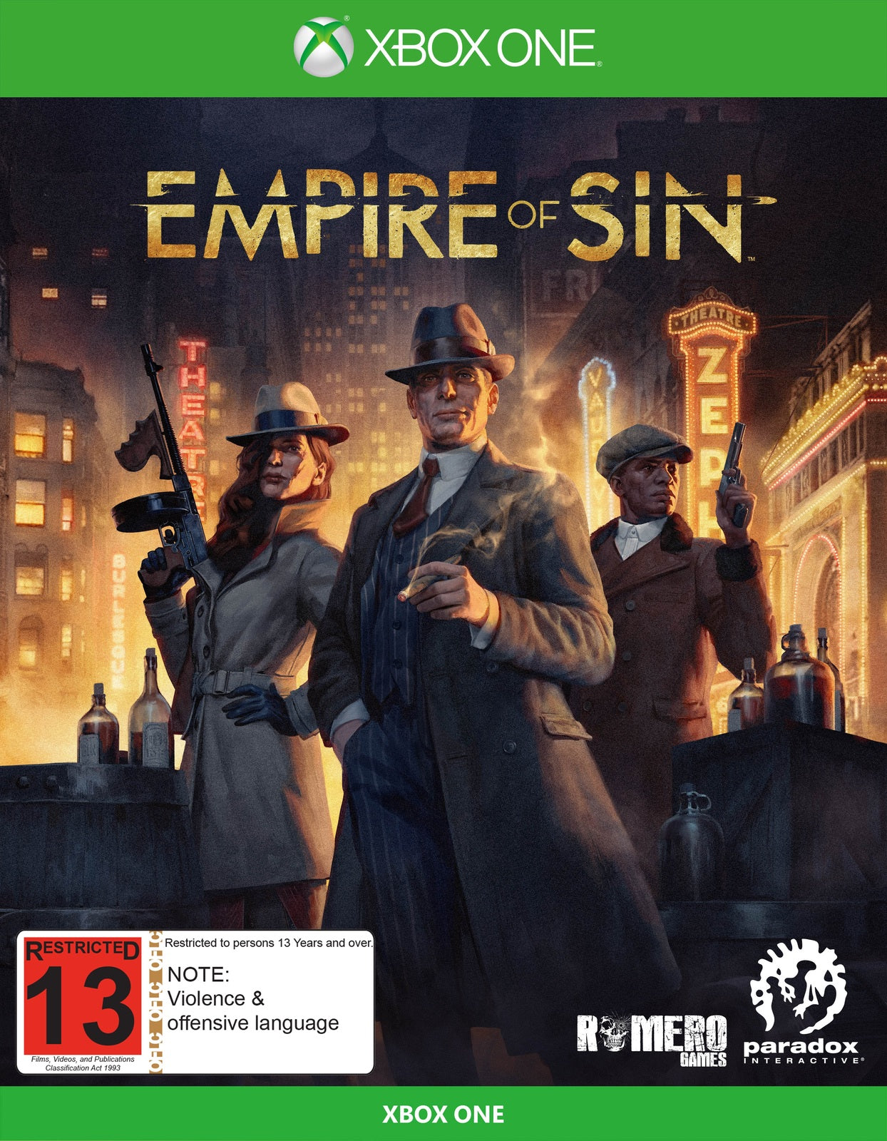Empire of Sin Day One Edition - Xbox One