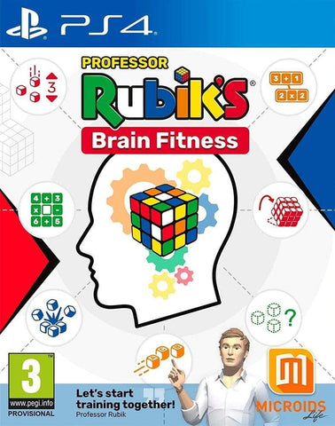 Professor Rubik's Brain Fitness - PS4