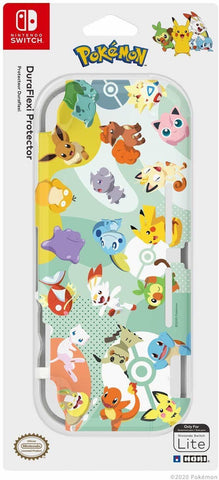 Switch Lite DuraFlexi Protector (Pikachu & Friends) by Hori - Nintendo Switch