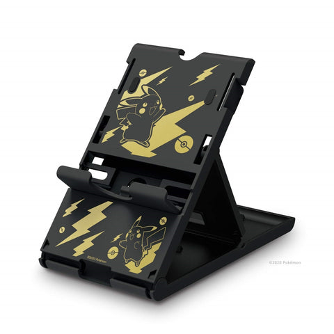Hori Playstand for Nintendo Switch (Pikachu Black & Gold) - Nintendo Switch