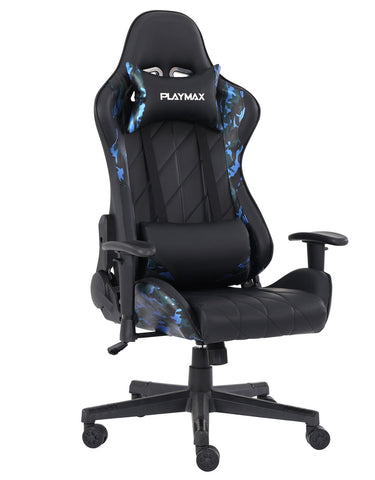 Playmax Elite Gaming Chair - Blue Camo