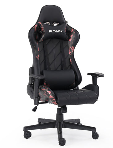Playmax Elite Gaming Chair - Red Camo