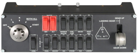 Logitech Pro Flight Switch Panel - PC Games