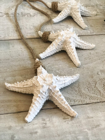 Hanging Starfish Trio