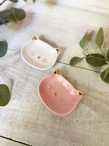 Kitty Jewelry Dish