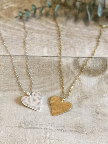 The Lylah Heart Necklace