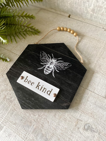 Bee Happy & Bee Kind Sign