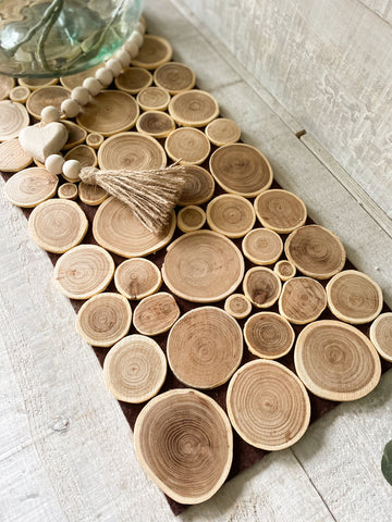 The Wood Knot Table Runner