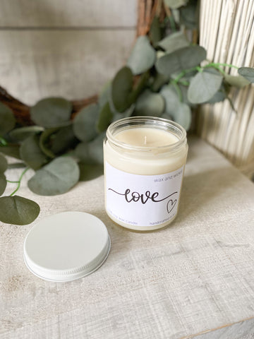 The 100% Soy Wax Candles