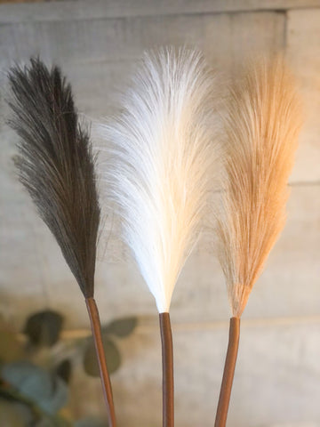 Mini Faux Pampas Grass