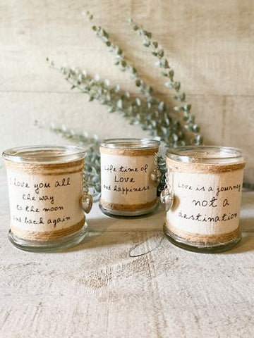 Love Inspired Candle Holders