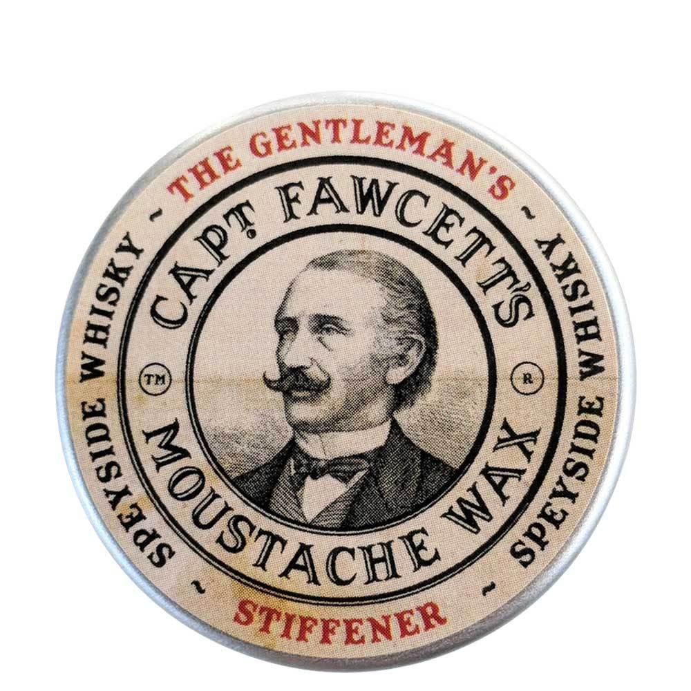 Captain Fawcett's Gentleman's Stiffener Malt Whisky Moustache Wax