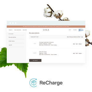 ReCharge Subscriptions Setup & Configuration