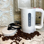 Electric Water Kettle, 1 Liter Off-White