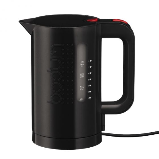 Electric Water Kettle, 1 Liter Black