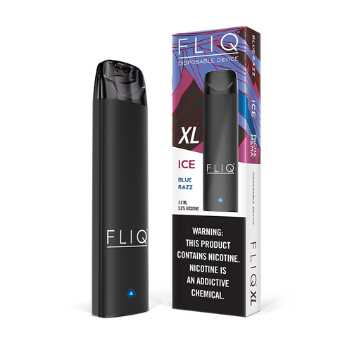 Fliq + Pachamama Ice Blue Razz Disposable Vape Xl