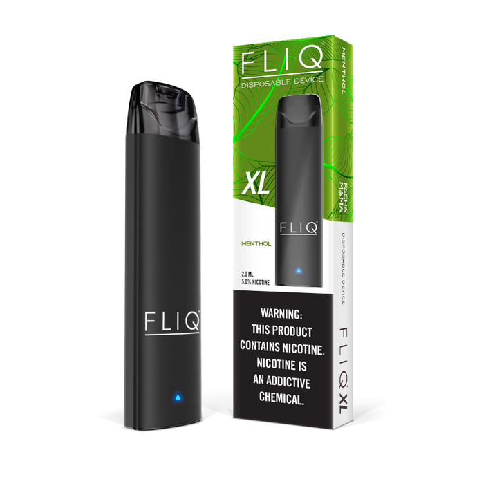 Fliq + Pachamama Menthol Disposable Vape Xl