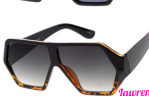 Brown & Black Printed Shades
