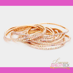 Bling Stackable Bangles