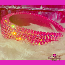 Load image into Gallery viewer, Pink Bling Headband