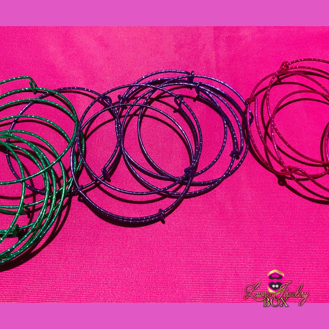 Colorful Bangles (Wholesale)
