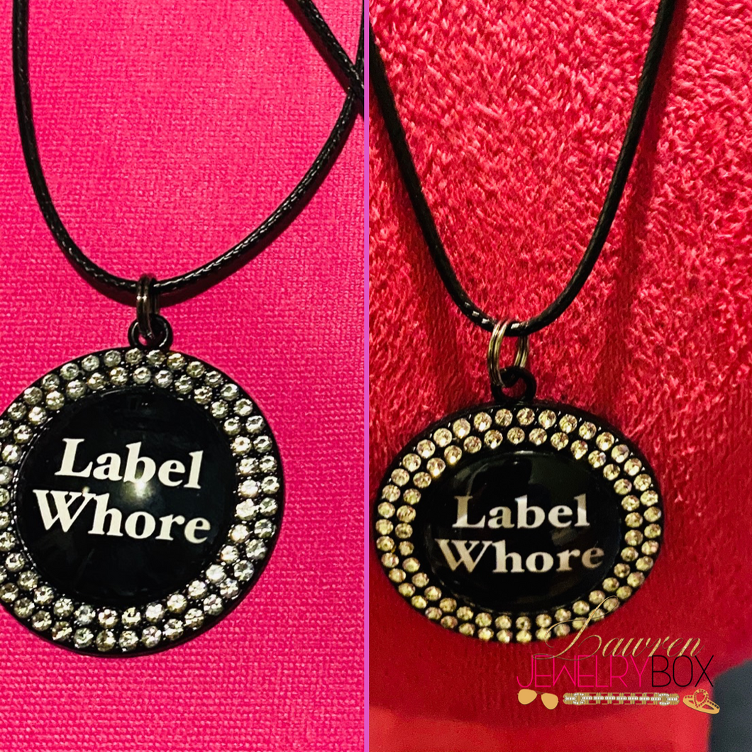 Label Whore Necklace