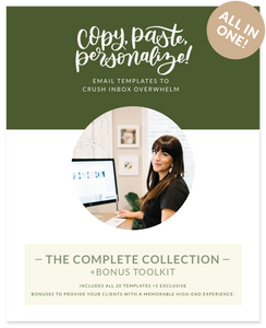 THE COMPLETE COLLECTION + BONUS TOOLKIT—Includes all 20 templates +5 exclusive bonuses