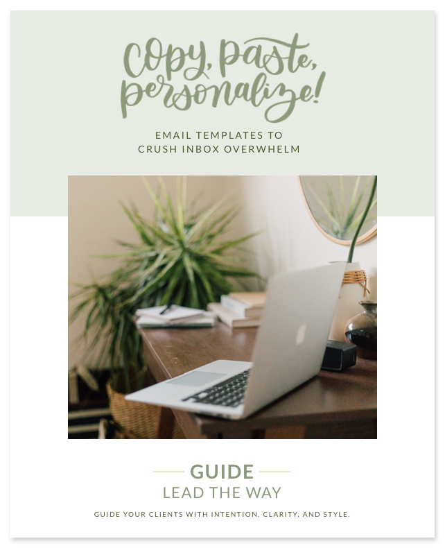 GUIDE: LEAD THE WAY—Guide your clients with intention, clarity, and style