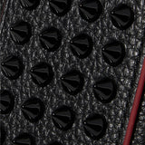 CHRISTIAN LOUBOUTIN Loubiphone spiked textured-leather iPhone X and XS case