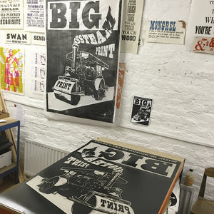 BIG STEAM PRINT with Ditchling Museum of Art and Craft