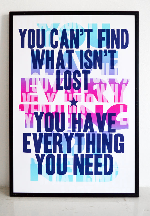You Have Everything You Need