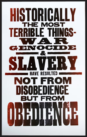 howard zinn quote, slavery, history, usa, civil disobedience, obedience, activism, activist, feminist, feminism, politics
