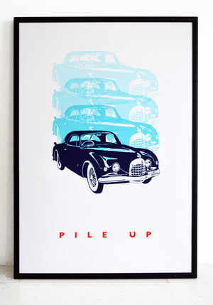 wall art, car print, top gear, vintage car