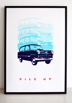 wall art, car print, top gear