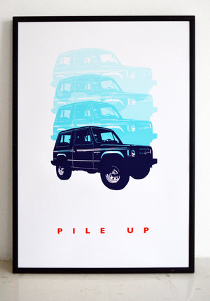 wall art, car print, top gear, jeep poster