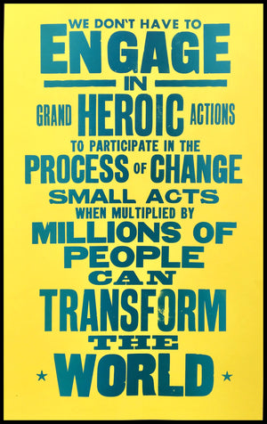 howard zinn poster, politics, change the world