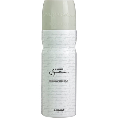SIGNATURE MEN DEO SPRAY 200ML - Al Haramain Perfumes