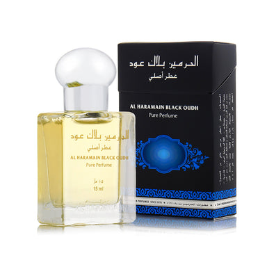 BLACK OUDH 15ML - Al Haramain Perfumes