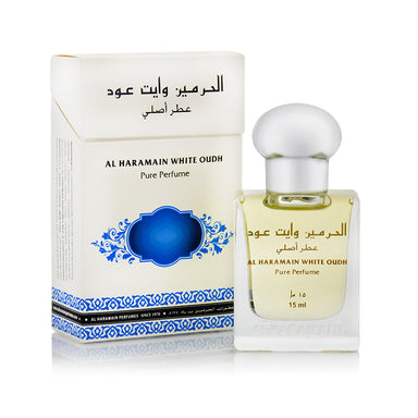 WHITE OUDH 15ML - Al Haramain Perfumes