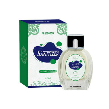 PERFUMED HAND SANITIZER 70ML - Al Haramain Perfumes