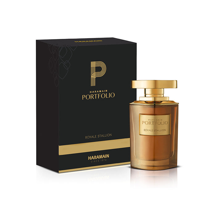 PORTFOLIO ROYALE STALLION EDP SPRAY 75ML - Al Haramain Perfumes