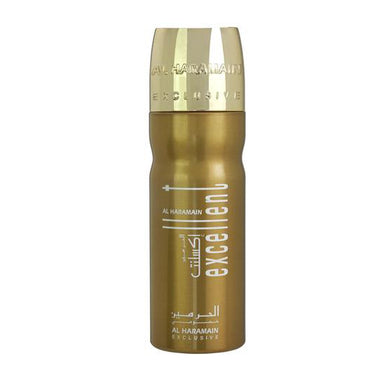 EXCELLENT DEO GOLD 200ML - Al Haramain Perfumes